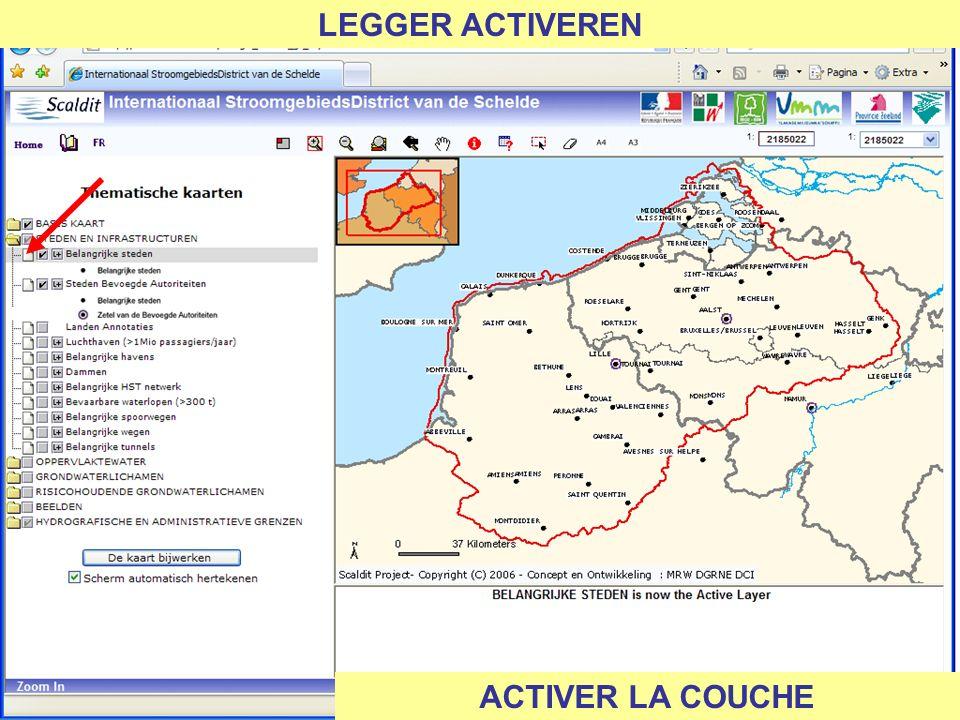 LEGGER ACTIVEREN ACTIVER LA COUCHE