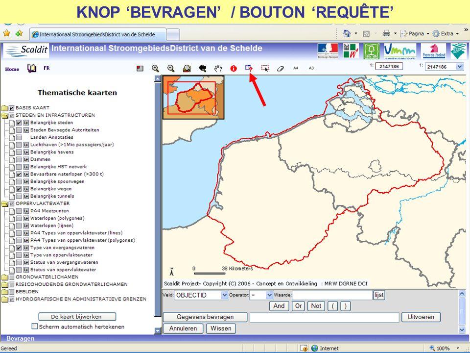 KNOP BEVRAGEN / BOUTON REQUÊTE