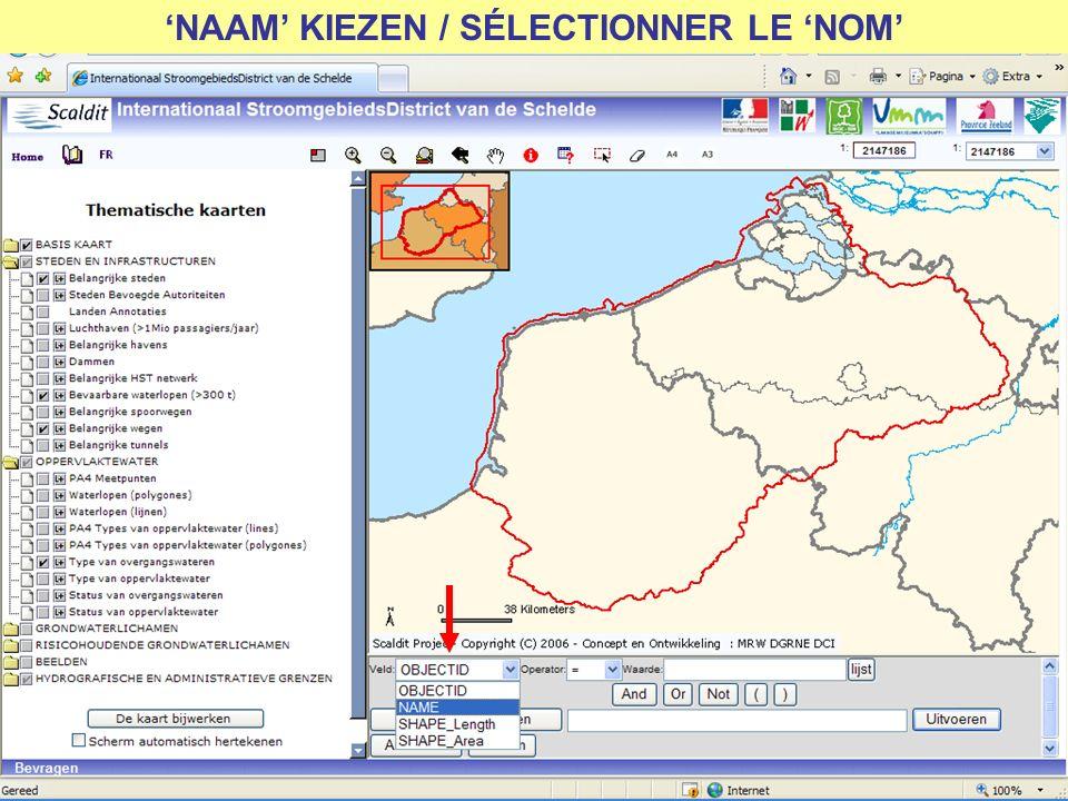 NAAM KIEZEN / SÉLECTIONNER LE NOM