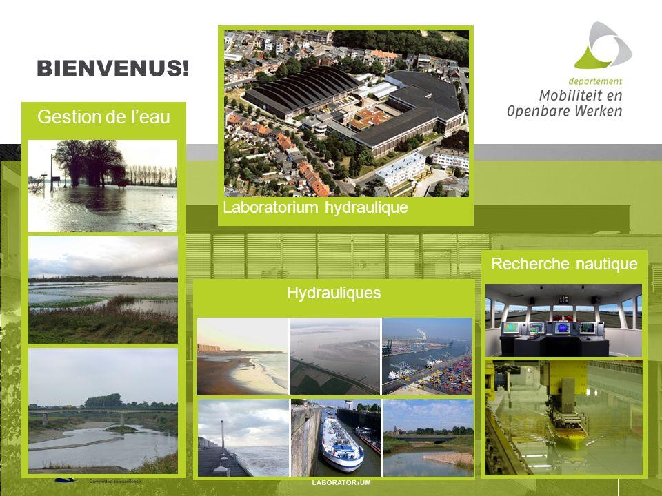 Hydrauliques Gestion de leau Recherche nautique Laboratorium hydraulique BIENVENUS!