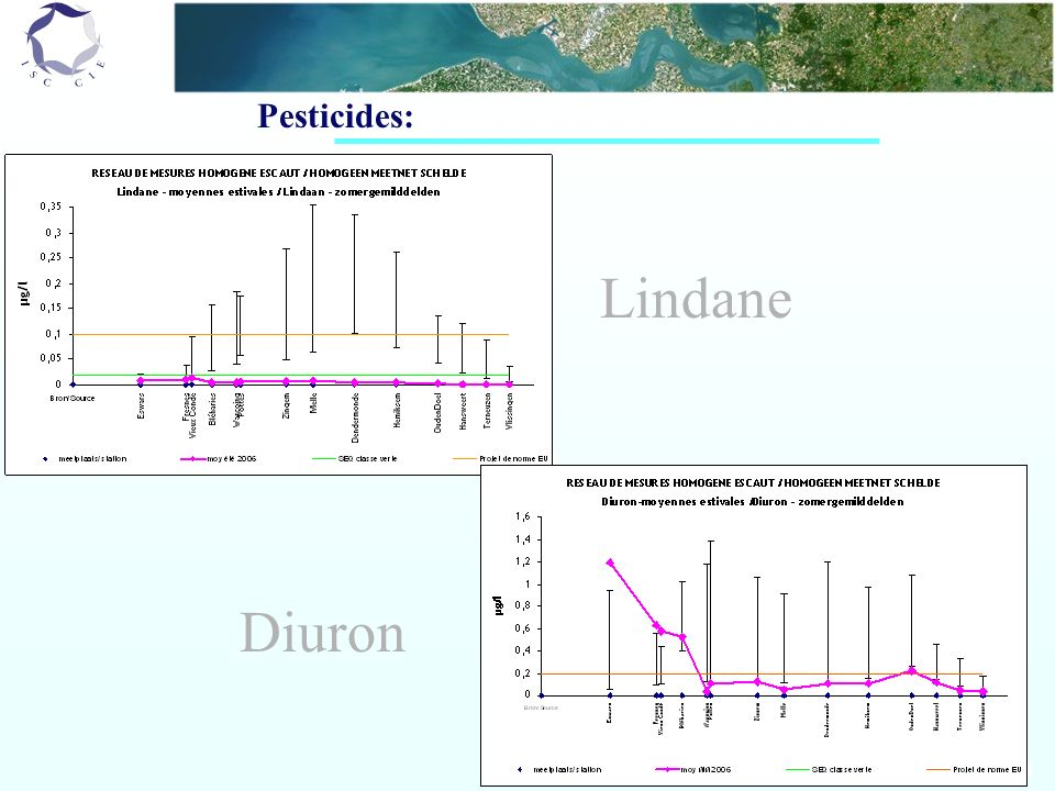 Pesticides: Lindane Diuron