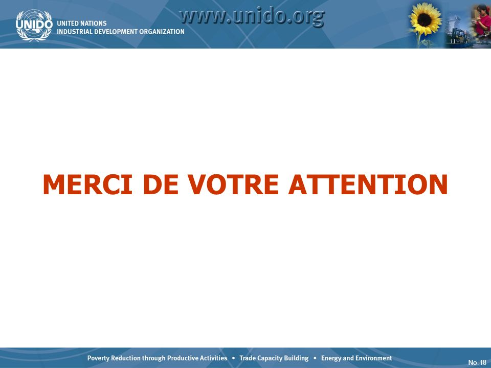 No.18 MERCI DE VOTRE ATTENTION