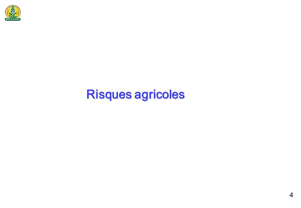 3 population : 1,2 milliards 120 millions d exploitations agricoles 80% des agriculteurs poss è dent moins de deux hectares 61% des m é nages ruraux sont agricoles 145 millions d hectares de terres cultiv é es 190 millions d hectares de r é gions globales cultiv é es Superficie moyenne des exploitations agricole 1,2 hectare C é r é ales et millets sur 50% des terres 52% des emplois fournis 69% de la population est entretenue Principalement agriculture de subsistance PIB agricole estim é à 285 milliards USD (FAO, 2010) Agriculture en Inde : caract é ristiques marquantes