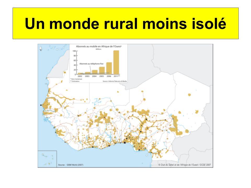Un monde rural moins isolé