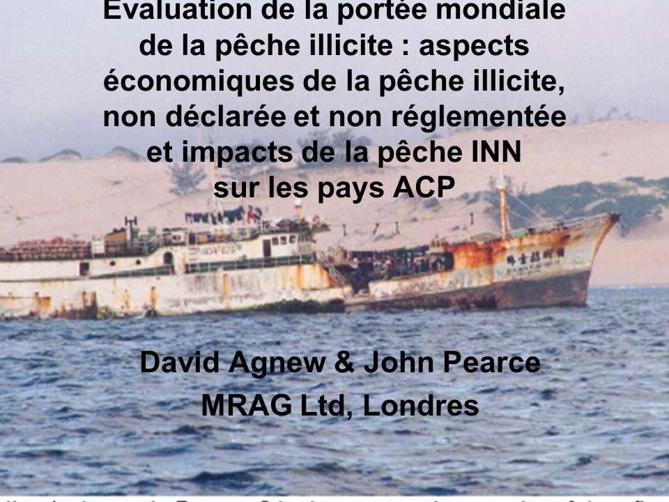 Évaluation de la portée mondiale de la pêche illicite : aspects économiques de la pêche illicite, non déclarée et non réglementée et impacts de la pêc