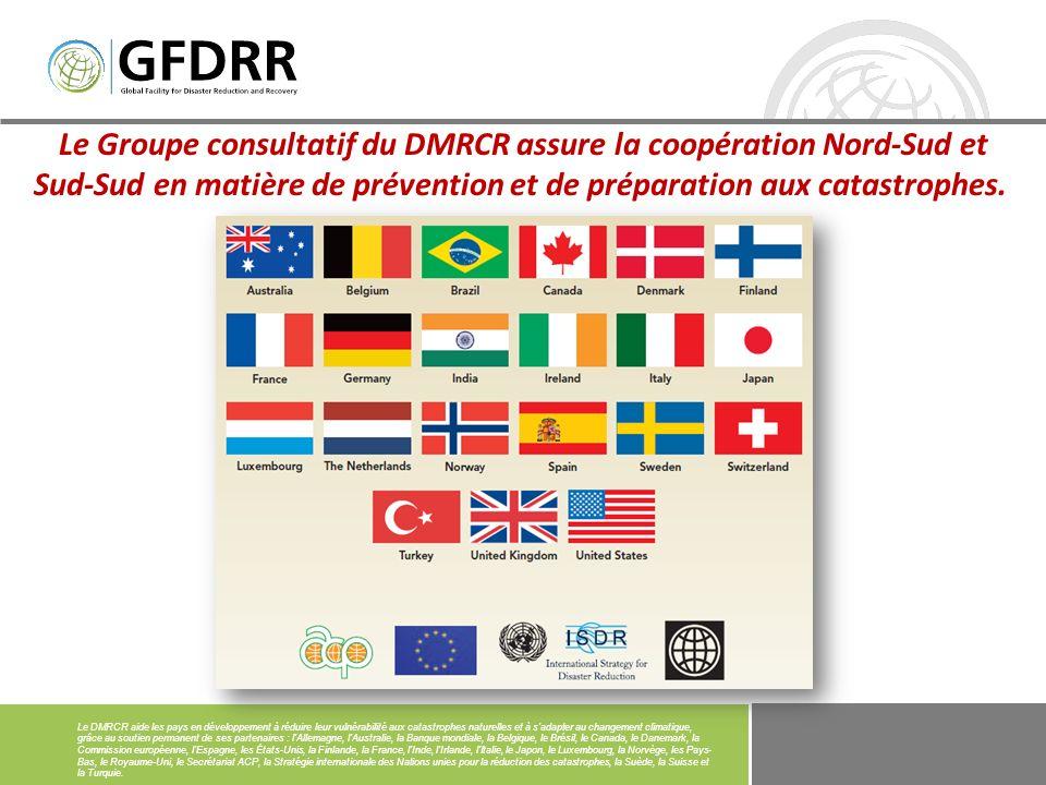 Le modèle de travail du DMRCR Partenariats mondiaux et régionaux (« Track I ») Nouer des partenariats plus étroits et inclusifs, élargir la gouvernance du DMRCR, étendre la coopération (sous-)régionale, impliquer le secteur privé.