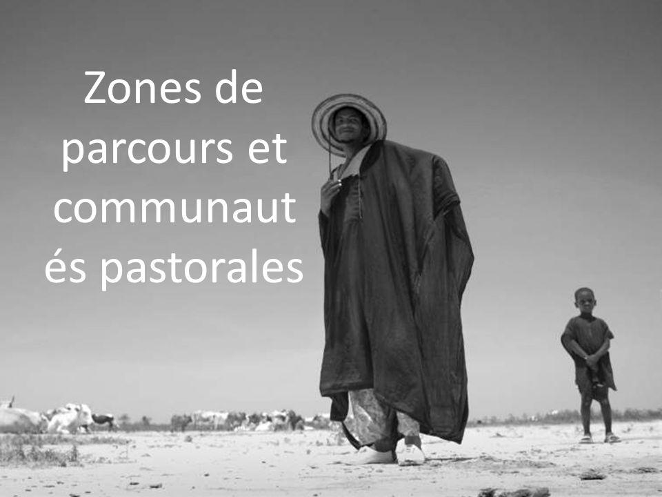 Zones de parcours et communaut és pastorales