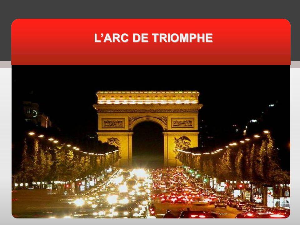 АКТУАЛЬНОСТЬ LARC DE TRIOMPHE LARC DE TRIOMPHE