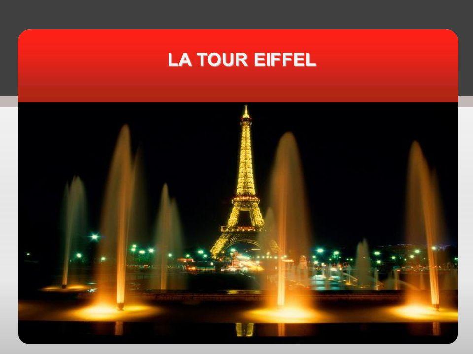 АКТУАЛЬНОСТЬ LA TOUR EIFFEL LA TOUR EIFFEL