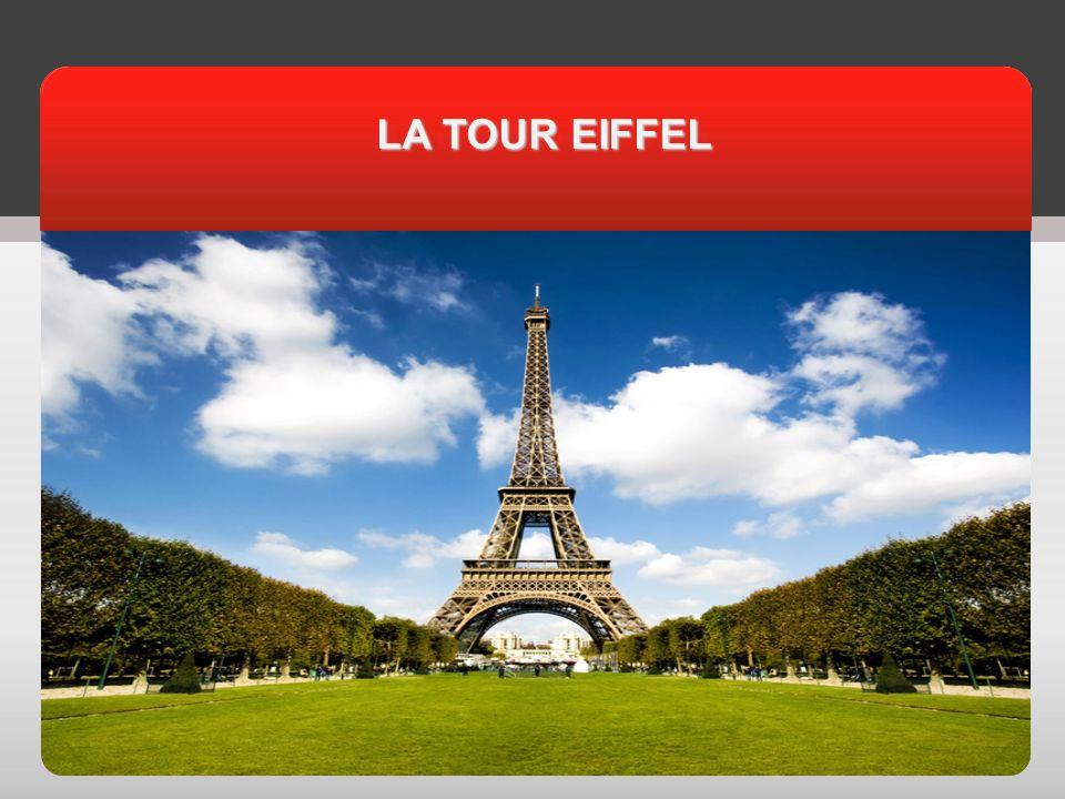 Cest la Tour Eiffel, une construction très légère et très solide.