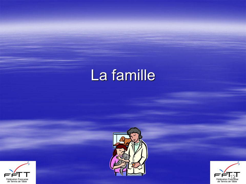 12 La famille