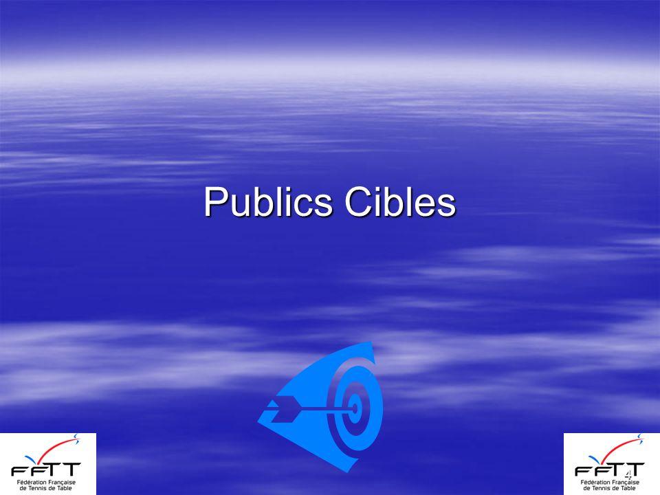 4 Publics Cibles