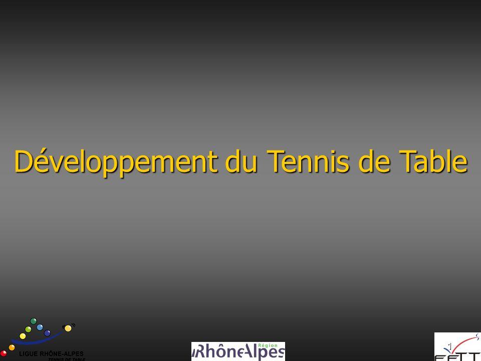 1 Développement du Tennis de Table