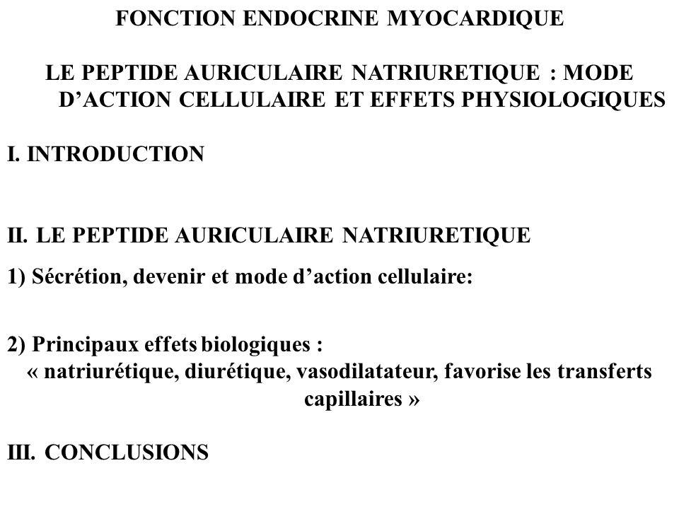 ECHANGES DE STARLING: CAPILLAIRE TUBULAIRE RENAL Pôle artérielPôle artériel Pression hydrostatique P capillaire4515 P urinaire106 Pression oncotique capillaire2020 urinaire 0 0 Total+ 15- 11 REABSORPTION +++ ===> 120 l / 24 h Débit anse de Henlé 45 ml / mn Réabsorption