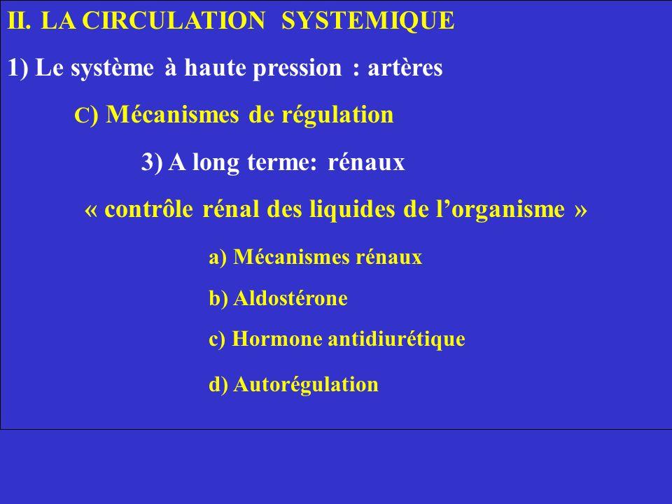 2) Anatomie fonctionnelle écoulement unidirectionnel de la lymphe