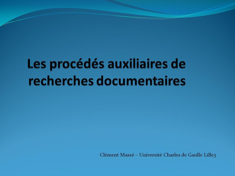 Clément Massé – Université Charles de Gaulle Lille3