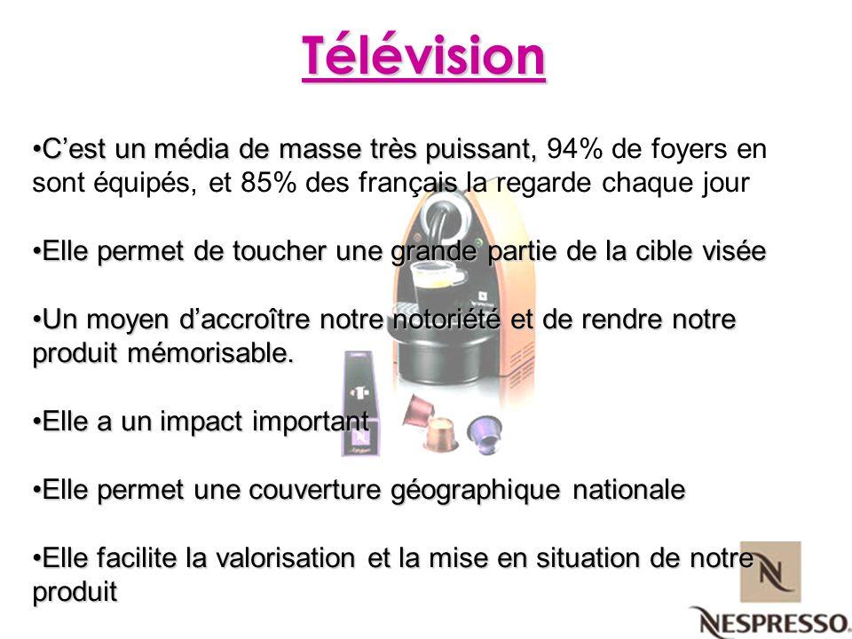Cest un média de masse très puissant,Cest un média de masse très puissant, 94% de foyers en sont équipés, et 85% des français la regarde chaque jour E