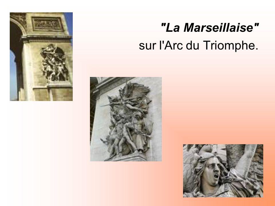 La Marseillaise sur l Arc du Triomphe.