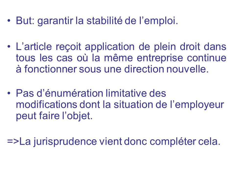2.2 Effets sur les relations collectives de travail a) Les normes collectives négociées : =>Quels sont les effets sur les conventions et les accords collectifs.