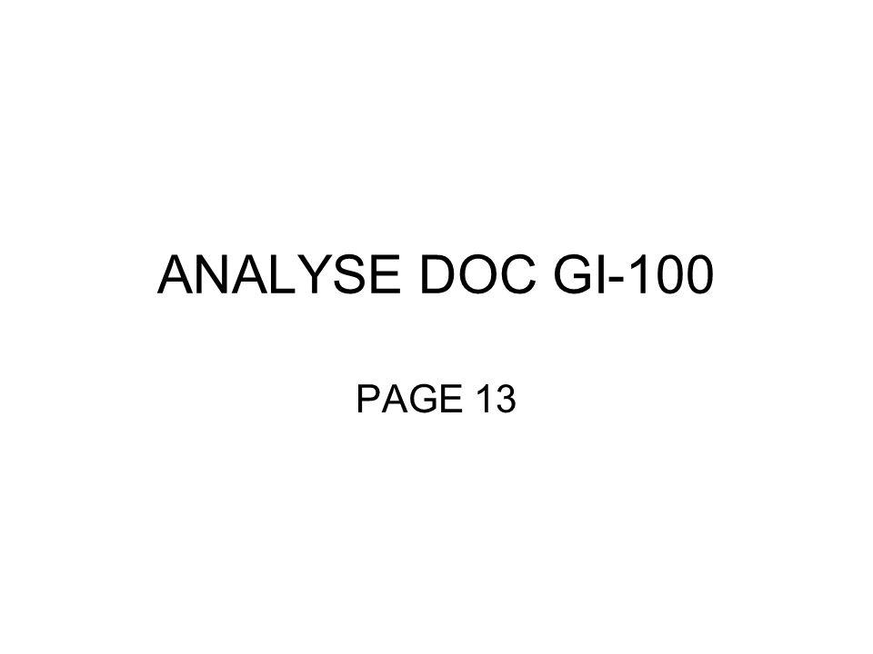 ANALYSE DOC GI-100 PAGE 13