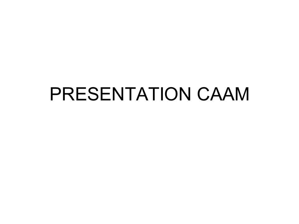 PRESENTATION CAAM