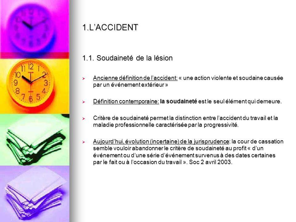 1.LACCIDENT 1.2.
