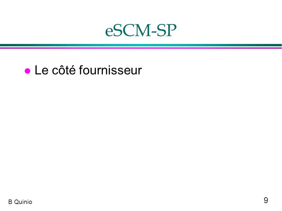 9 B Quinio eSCM-SP l Le côté fournisseur