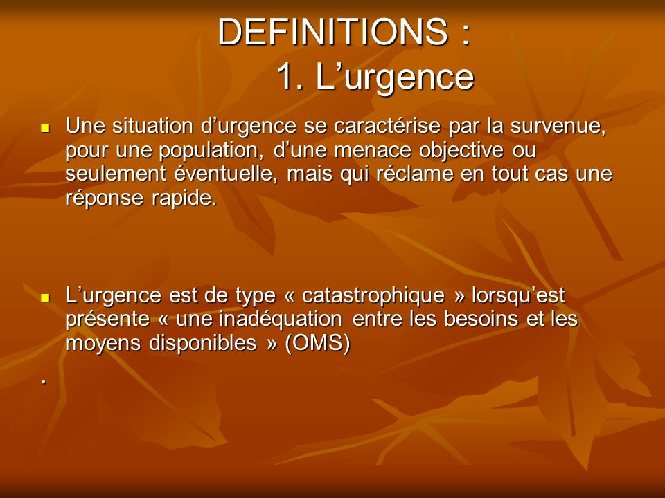 DEFINITIONS : 2.
