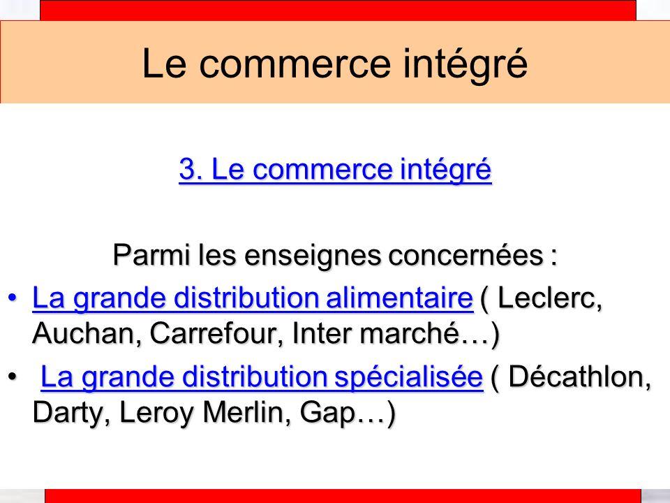 Alain Téfaine – 04/2004 Les formes de commerce