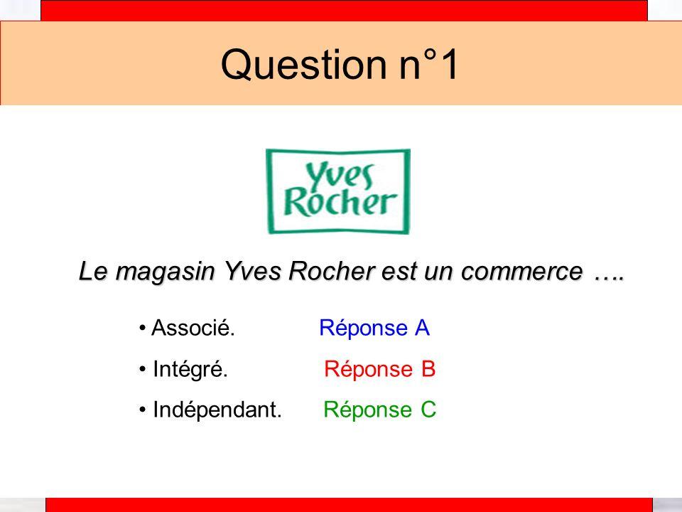 Alain Téfaine – 04/2004 Question n°1 Le magasin Yves Rocher est un commerce ….