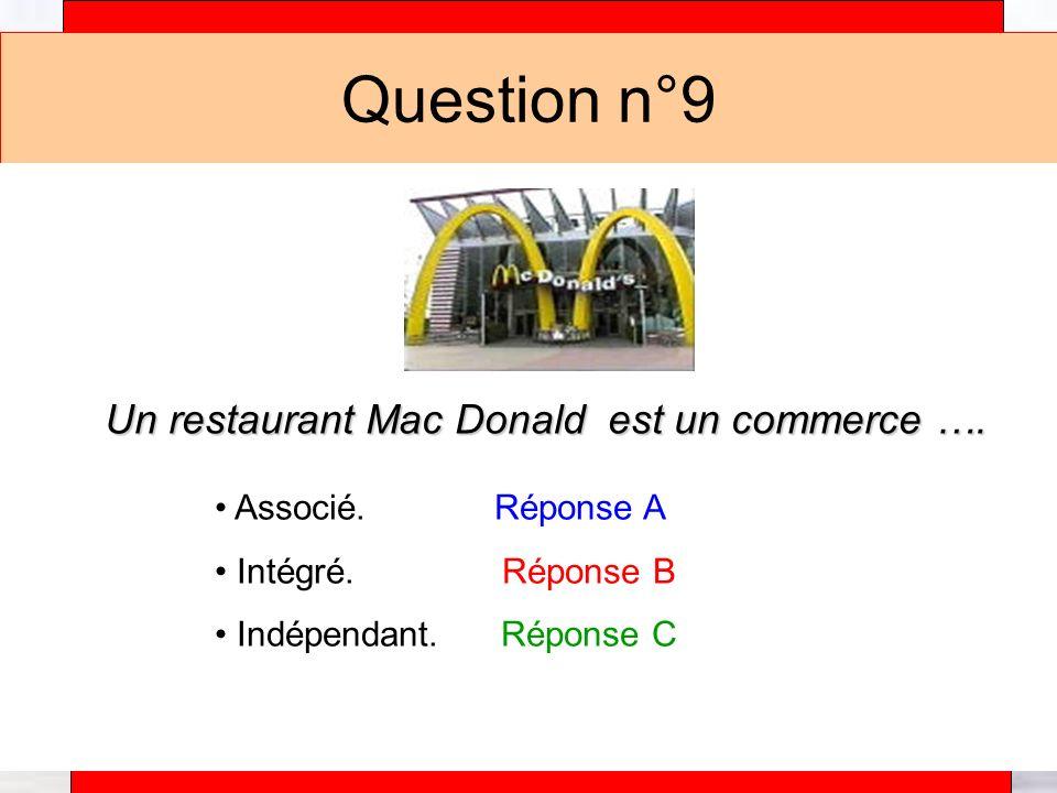 Alain Téfaine – 04/2004 Question n°10 Un magasin Etam est un commerce ….