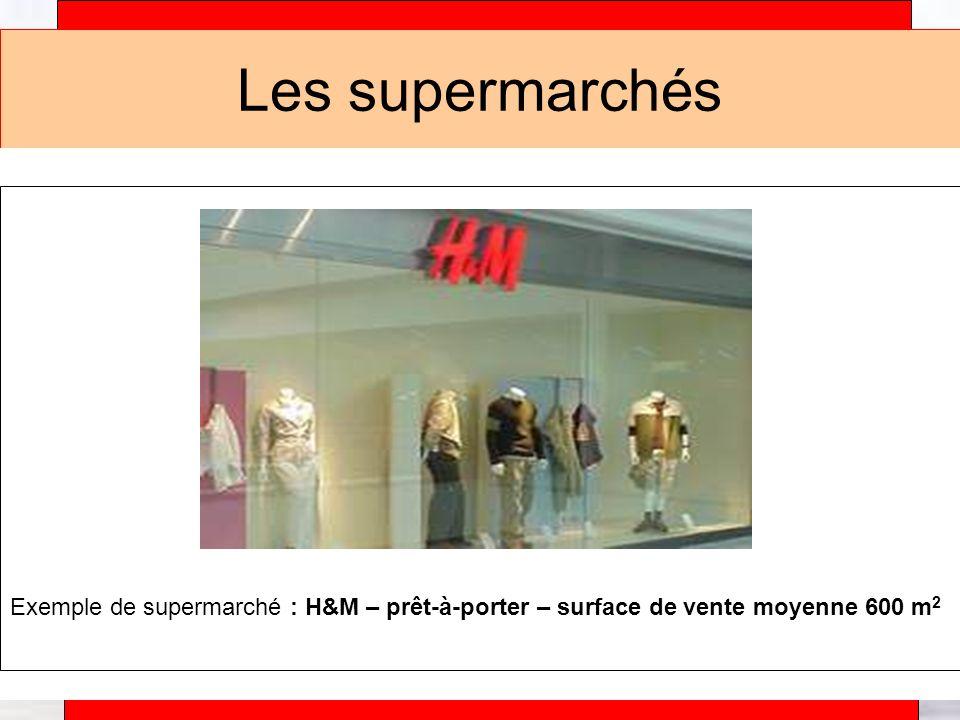 Alain Téfaine – 04/2004 Les supermarchés Exemple de supermarché : Champion – distribution alimentaire – surface de vente moyenne 1700 m 2