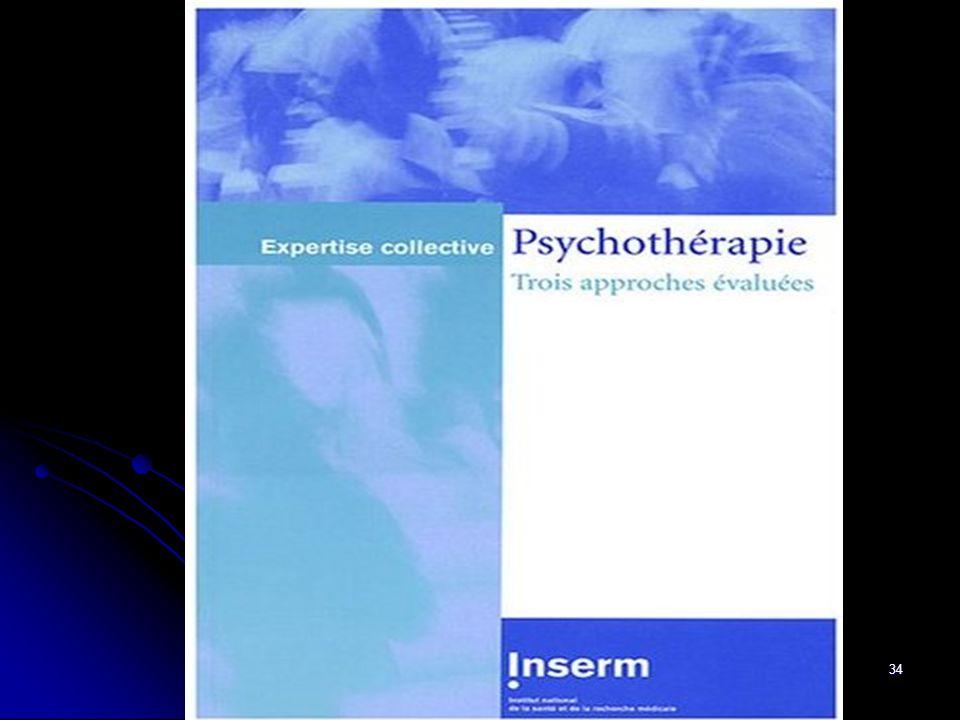 34 Etude INSERM (2004)