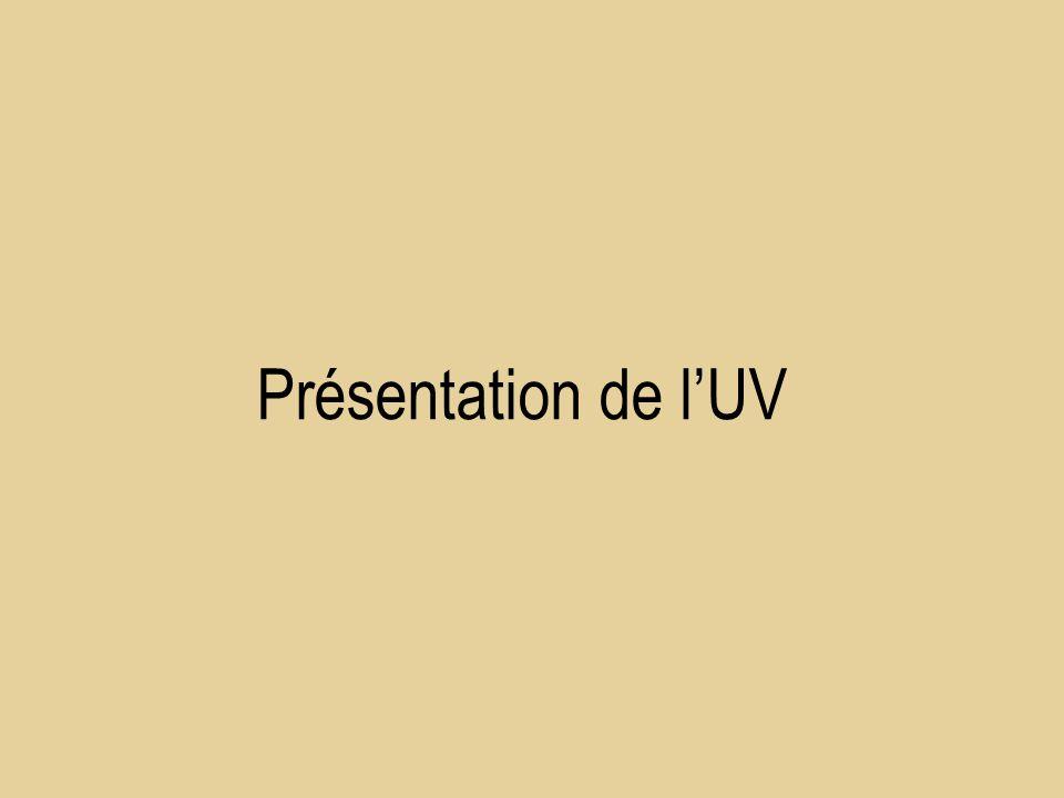Présentation de lUV