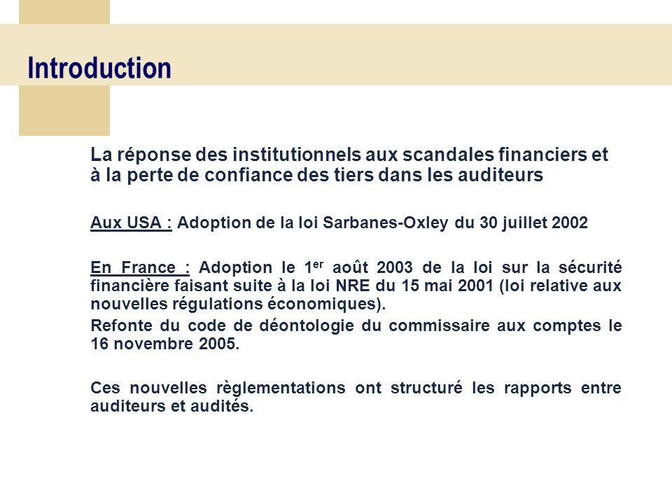 16 Les différentes phases Contrôle des comptes Toutes les assertions doivent être couvertes Finalisation Emission des rapports