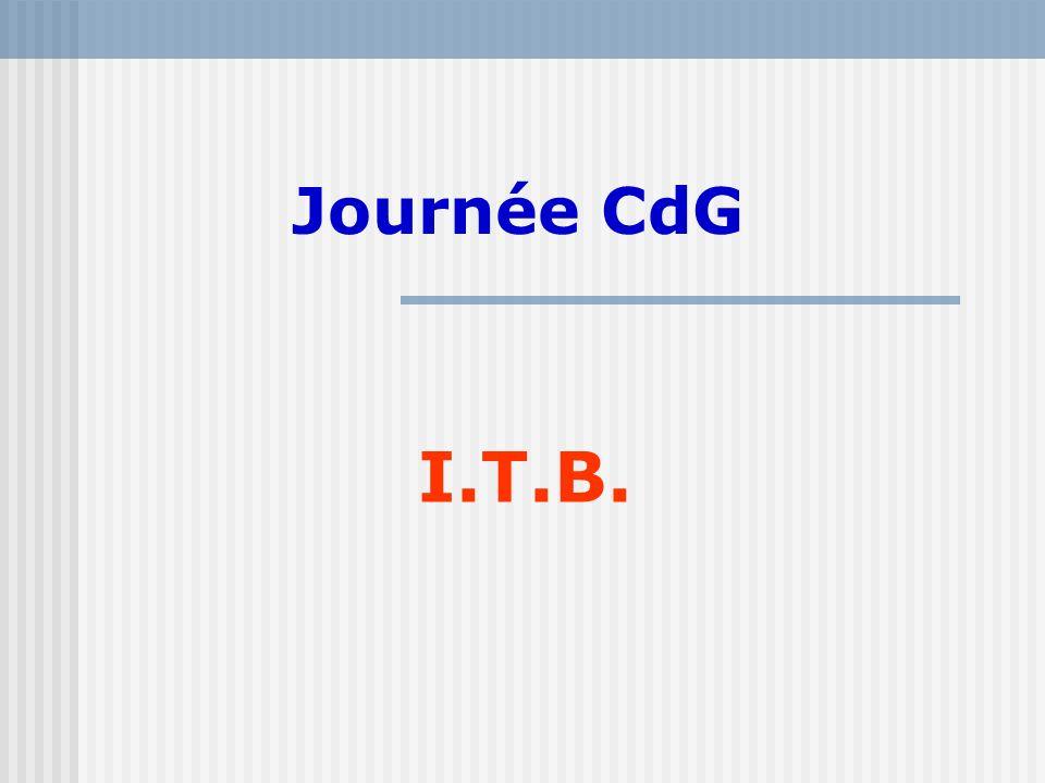 Journée CdG I.T.B.