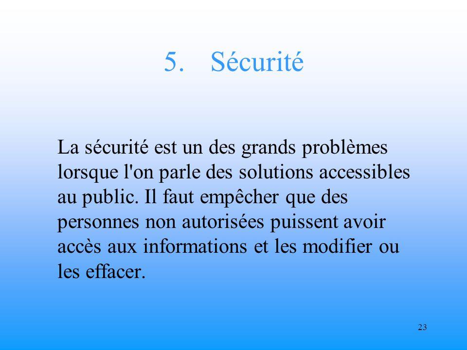 22 4. Protection de la vie privée