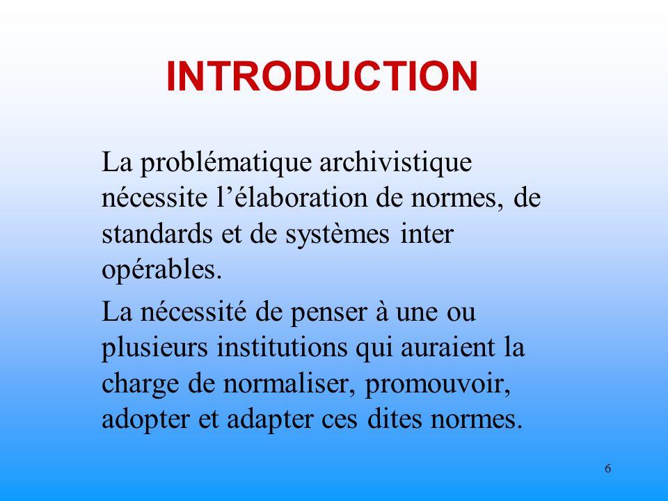 5 INTRODUCTION Le Secteur privé et le semi-public en avance sur ladministration publique