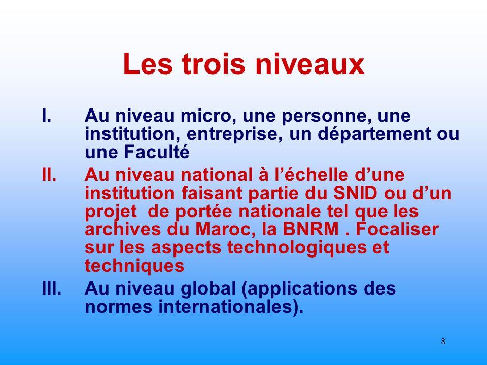 7 INTRODUCTION La gestion archivistique peut être donc appréciée selon des acceptions personnelles, technologiques, déontologiques, politiques ou même économiques ….