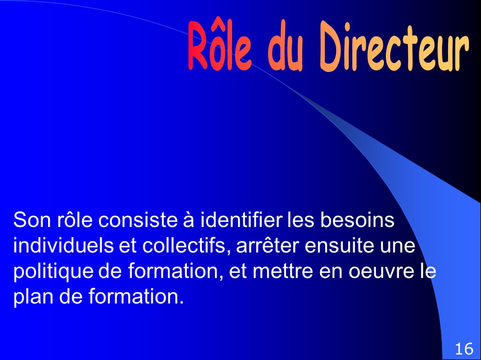 la gestion du personnel la s é curit é et des conditions de travail De la formation Des relations sociales Du management social De la communication interne Conditions de travail 17