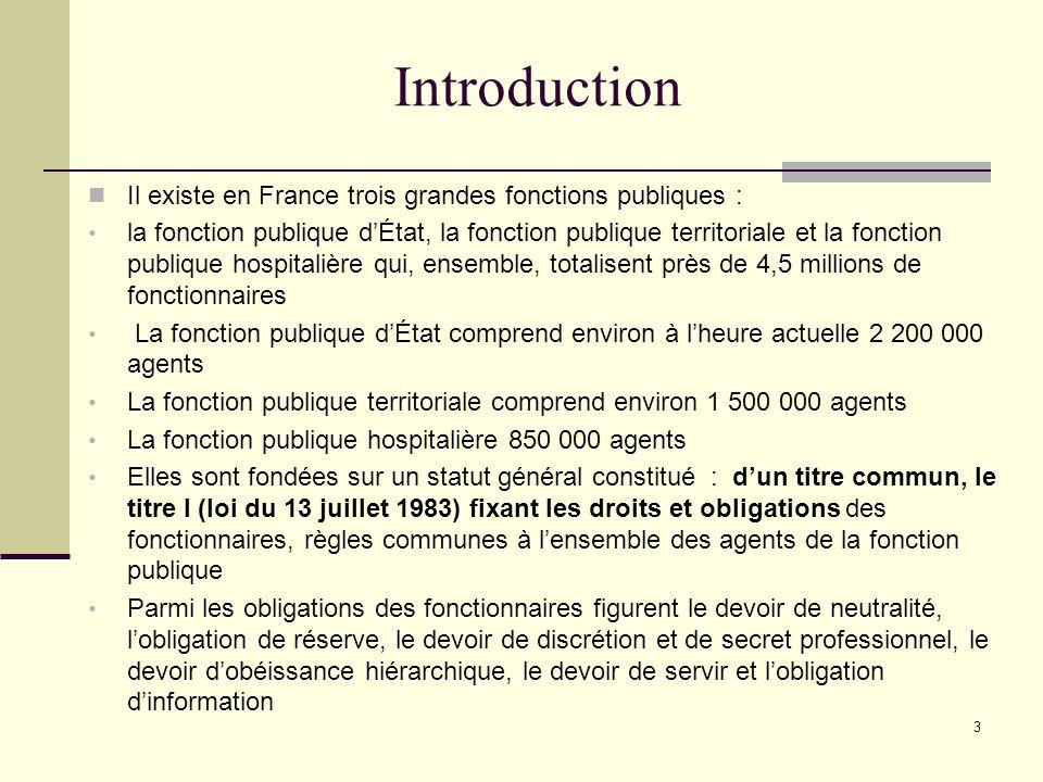 134 6.1.10.Le congé de présence parentale Situation administrative de lagent : Congé non rémunéré.