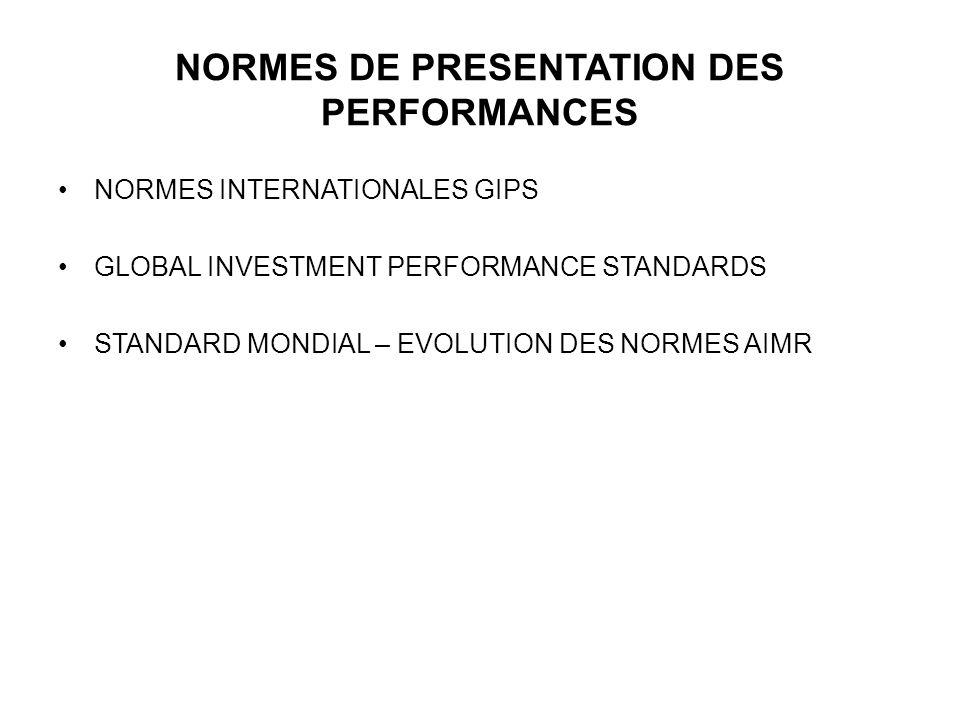 Performance Relative mensuelle moyenne sur 3 ans = Ratio de Performance Relative/Volatilité Relative Volatilité de la Performance Relative mensuelle sur 3 ans Attribution des Etoiles (Star Ranking) Standard & Poors Pour une catégorie de 100 OPCVM, les Etoiles Standard & Poors sont réparties comme suit : ***** top 10% (10 OPCVM) ****top 11-30% (20 OPCVM) ***top 31-50% (20 OPCVM) **les 25% suivants (25 OPCVM) *les derniers 25% (25 OPCVM) Les Etoiles Standard & Poors (3/3)