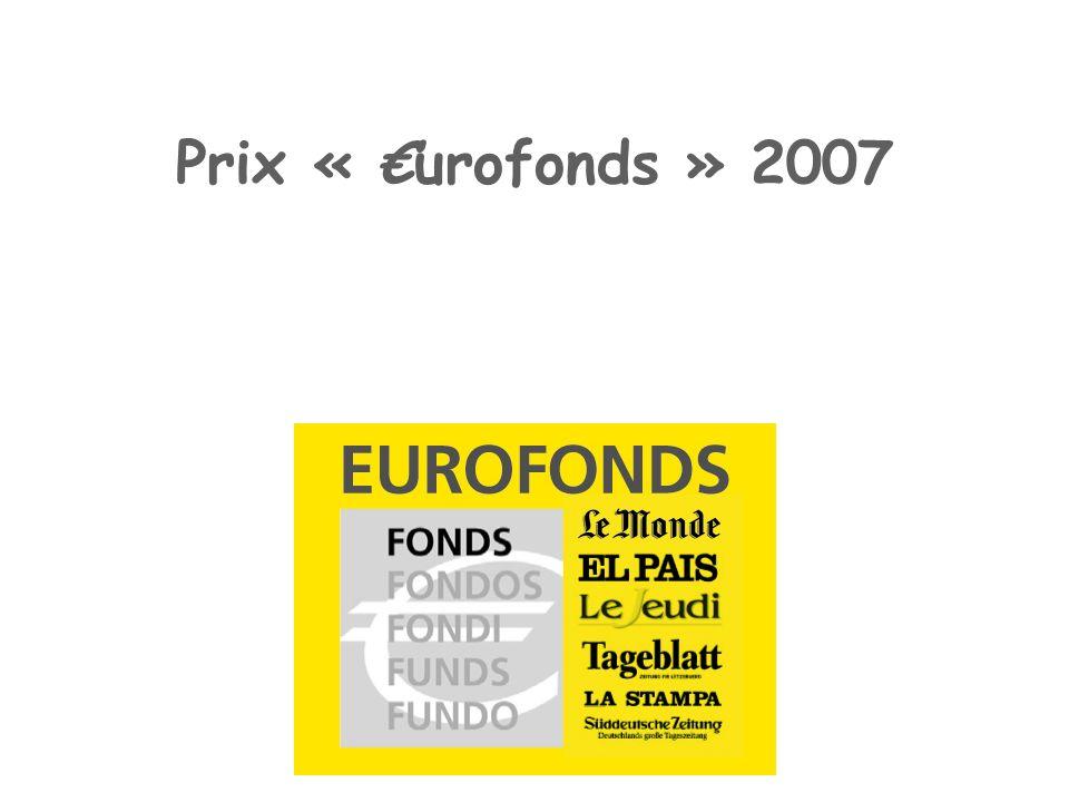 Prix « urofonds » 2007