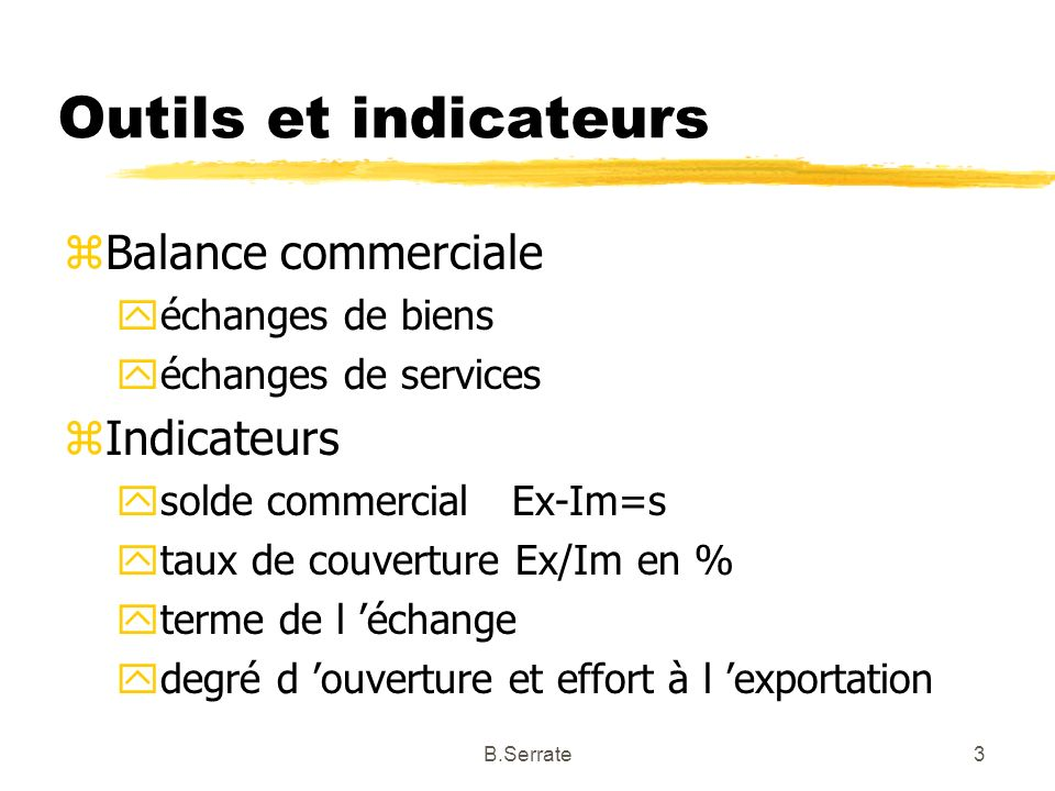 -II- Le commerce international du XIX°- XX° Au moment de la mise en place du capitalisme industriel 24B.Serrate