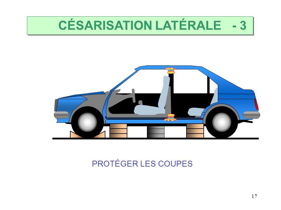 17 PROTÉGER LES COUPES CÉSARISATION LATÉRALE - 3