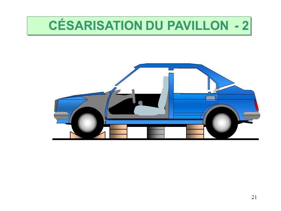21 CÉSARISATION DU PAVILLON - 2