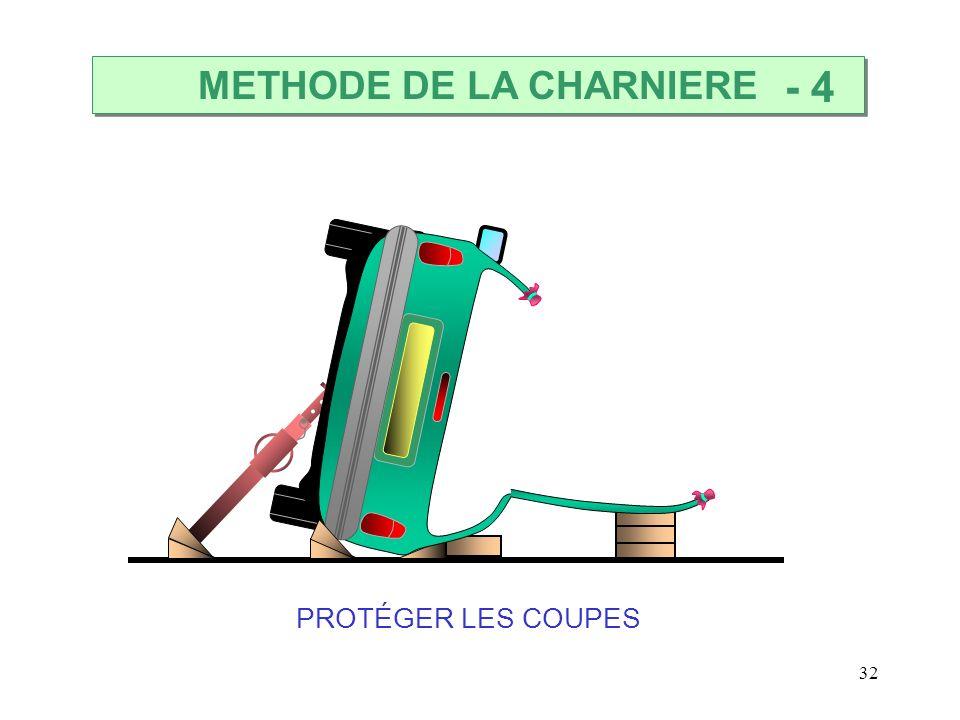 32 PROTÉGER LES COUPES METHODE DE LA CHARNIERE - 4