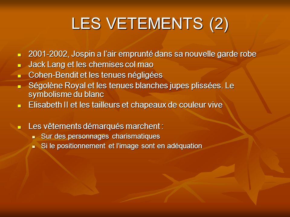 LES VETEMENTS (2) 2001-2002, Jospin a lair emprunté dans sa nouvelle garde robe 2001-2002, Jospin a lair emprunté dans sa nouvelle garde robe Jack Lan
