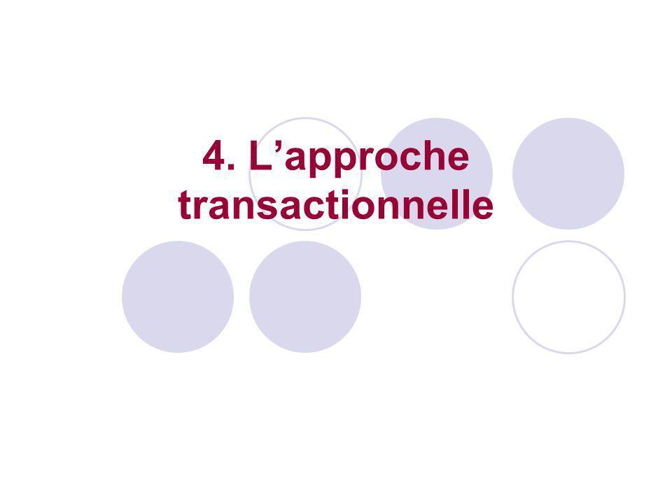 4. Lapproche transactionnelle