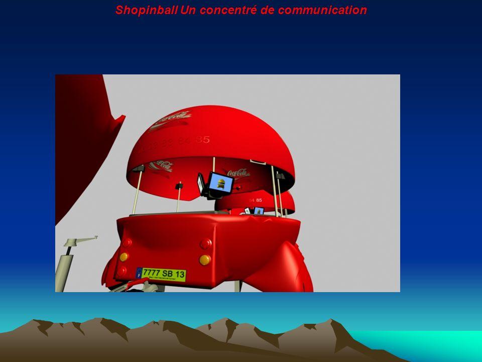 Shopinball est un nouveau support, original, innovant et 100 % itinérant.